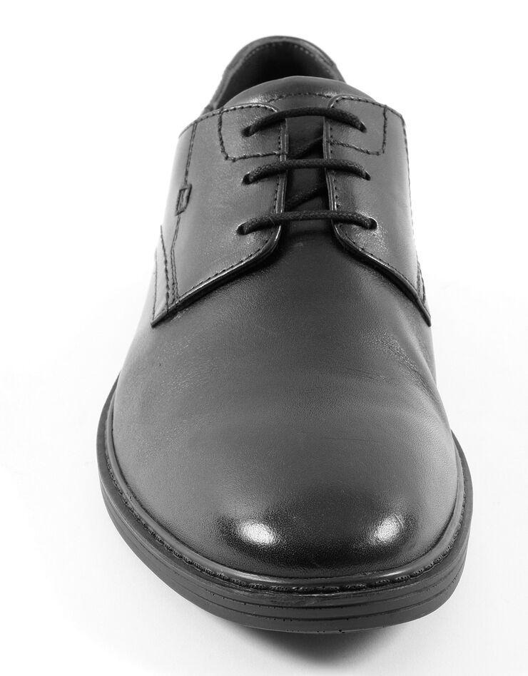 Derbies lacés croûte de cuir, noir, hi-res image number 3