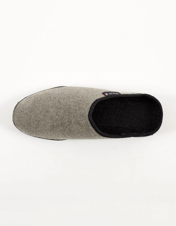 Mules homme semelles Airplum textile éponge, kaki, hi-res image number 2