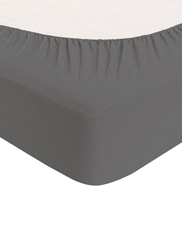 Drap-housse imperméable Tencel®, gris anthracite, hi-res