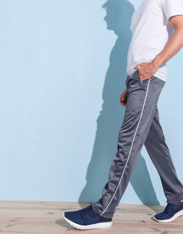 Pantalon sport intérieur gratté, gris, hi-res
