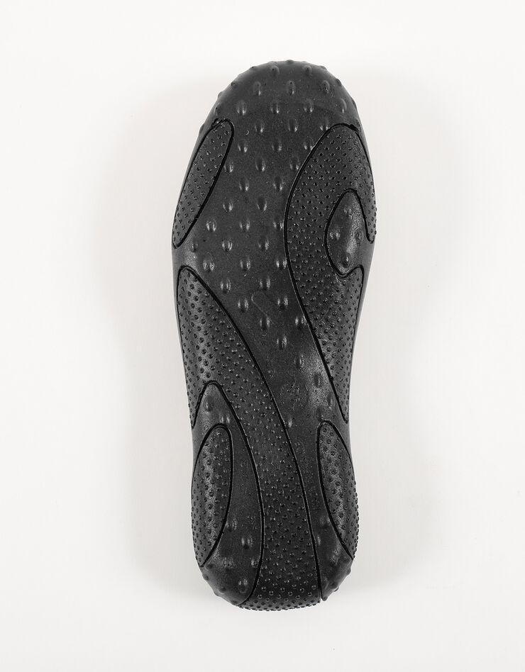 Mules homme semelles Airplum textile éponge, noir, hi-res image number 5