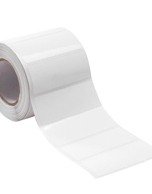 Étiquette de cuisine blanche - lots petit format, blanches, hi-res