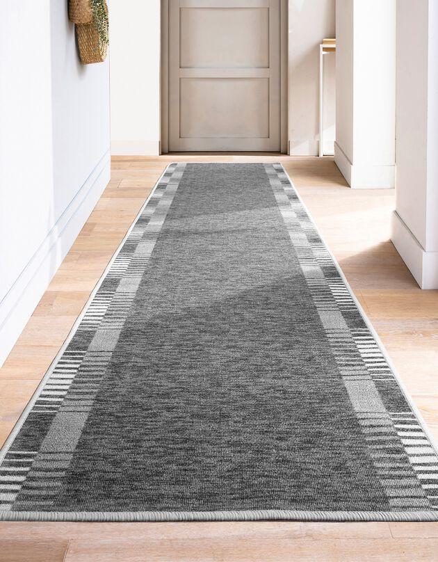 Tapis d'entrée, couloir et escalier Abstract, gris, hi-res