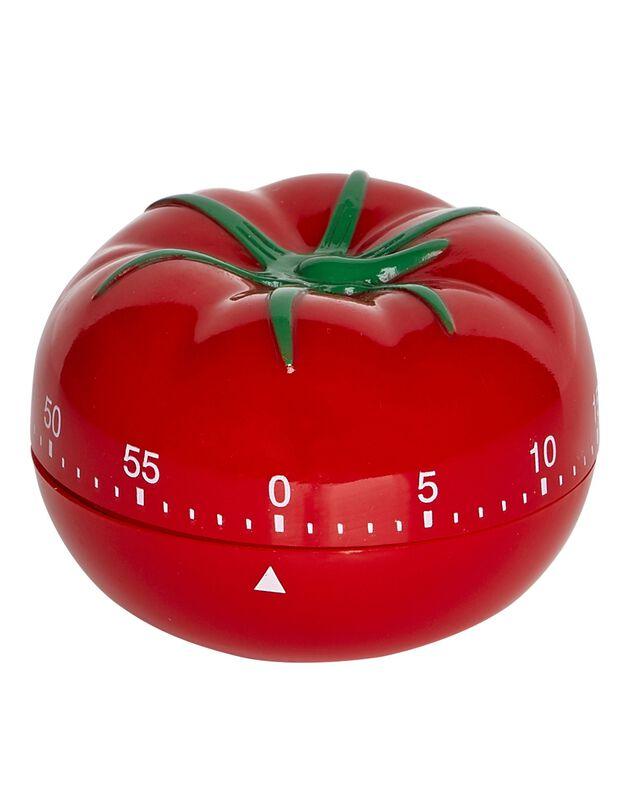 Minuteur tomate, rouge, hi-res