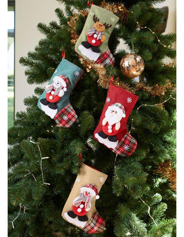 Chaussettes de Noël - lot de 4, assortis, hi-res