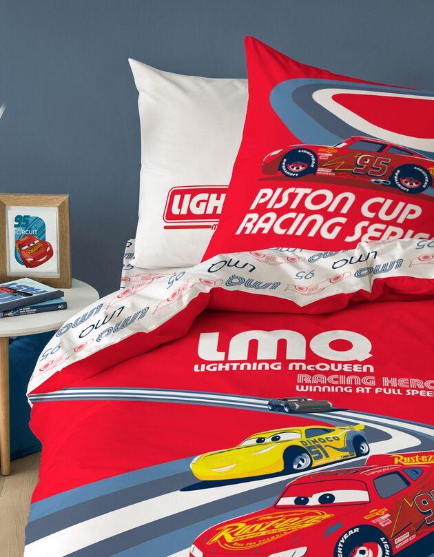 Parure de lit Cars Master® - coton, rouge, hi-res