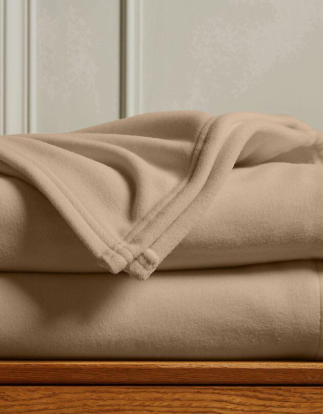 Fleece deken 300g/m2, voor de beste prijs, zandkleur, hi-res
