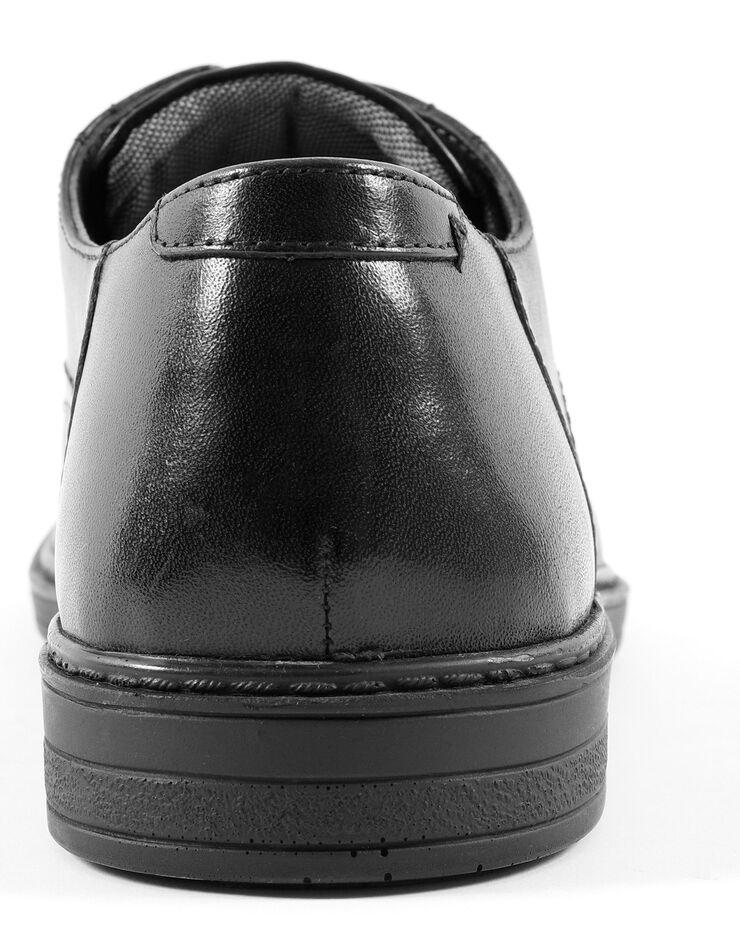 Derbies lacés croûte de cuir, noir, hi-res image number 4