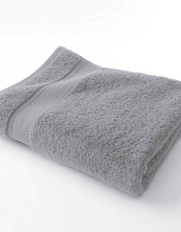 Effen badstof 540g/m2, luxe comfort, grijs, hi-res