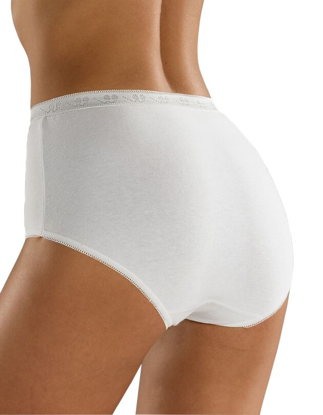 Culotte super maxi basique - lot de 3, blanc, hi-res