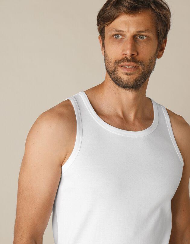 Débardeur sous-vêtement homme - lot de 3, blanc, hi-res