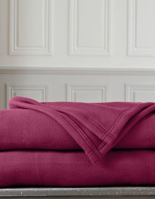 Fleece deken 300g/m2, voor de beste prijs, pruim, hi-res