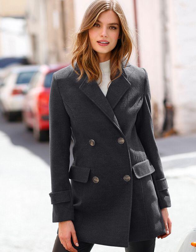 Manteau caban, anthracite, hi-res