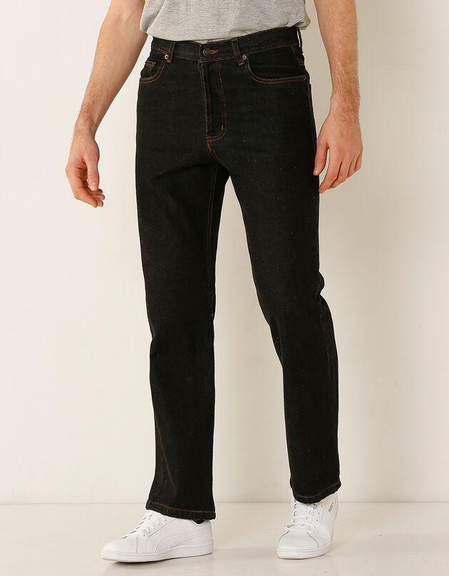 Authentieke jeans in recht model - binnenpijplengte 72 cm, black, hi-res