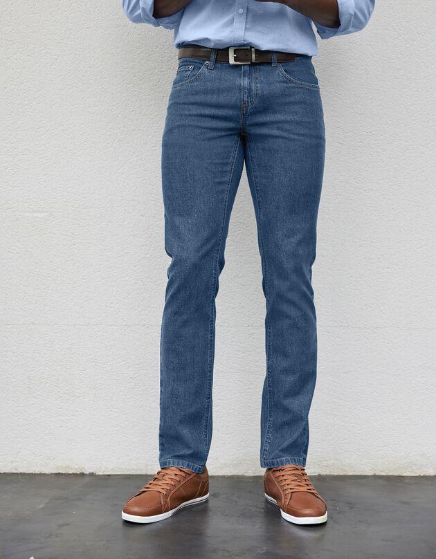 Jeans voor gezet lichaam, stone, hi-res