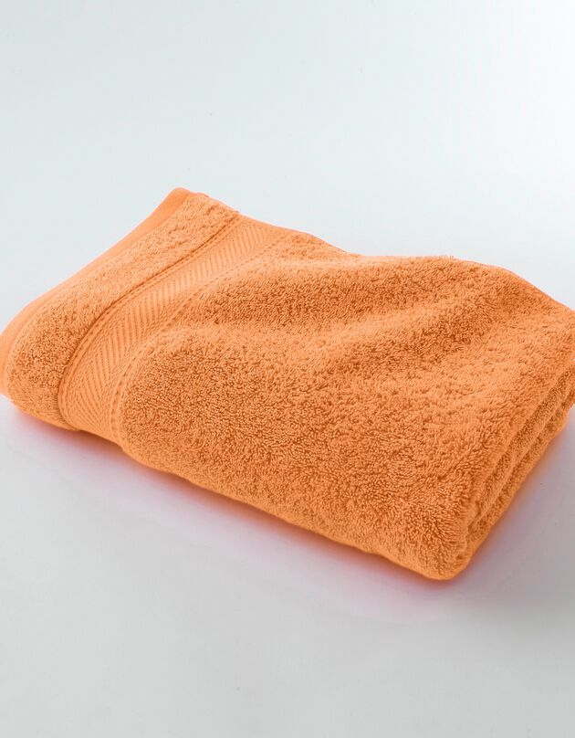 Effen badstof 540g/m2, luxe comfort, abrikoos, hi-res