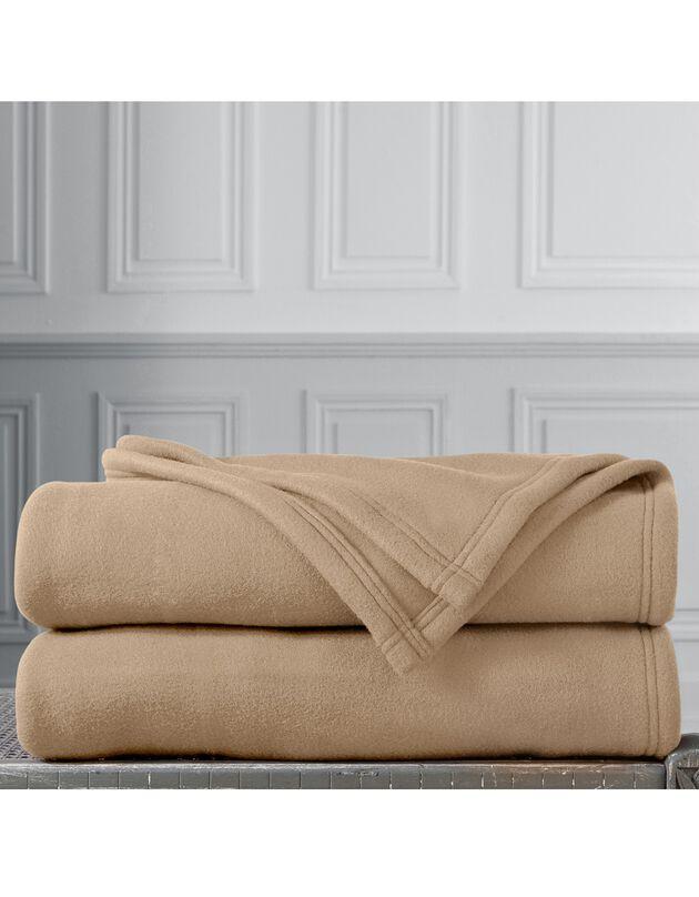 Deken in Thermotec® fleece 350g/m2, zandkleur, hi-res