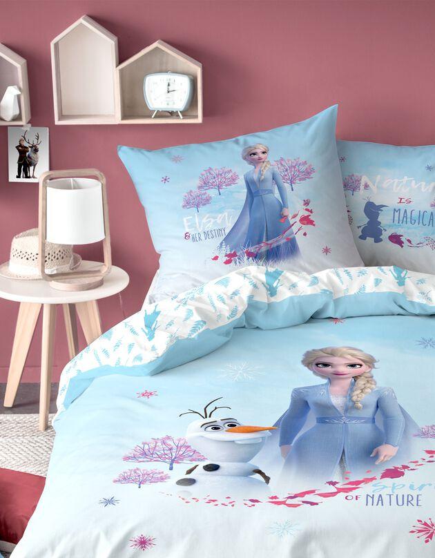 Parure de lit La reine des neiges® - coton, bleu, hi-res