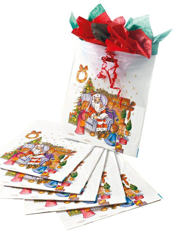 Sachet de Noël - lot de 12, sachets, hi-res