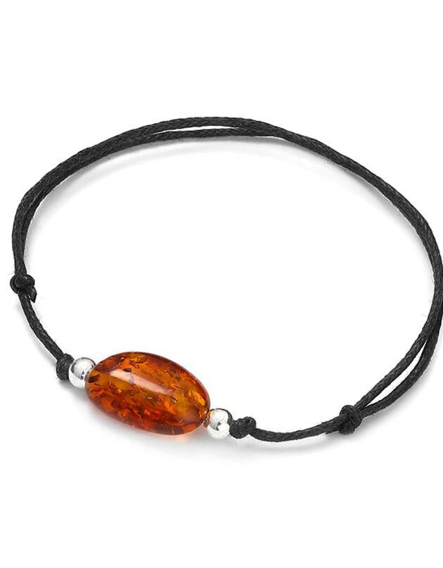 Armband 'bol' in amber(1), amber, hi-res