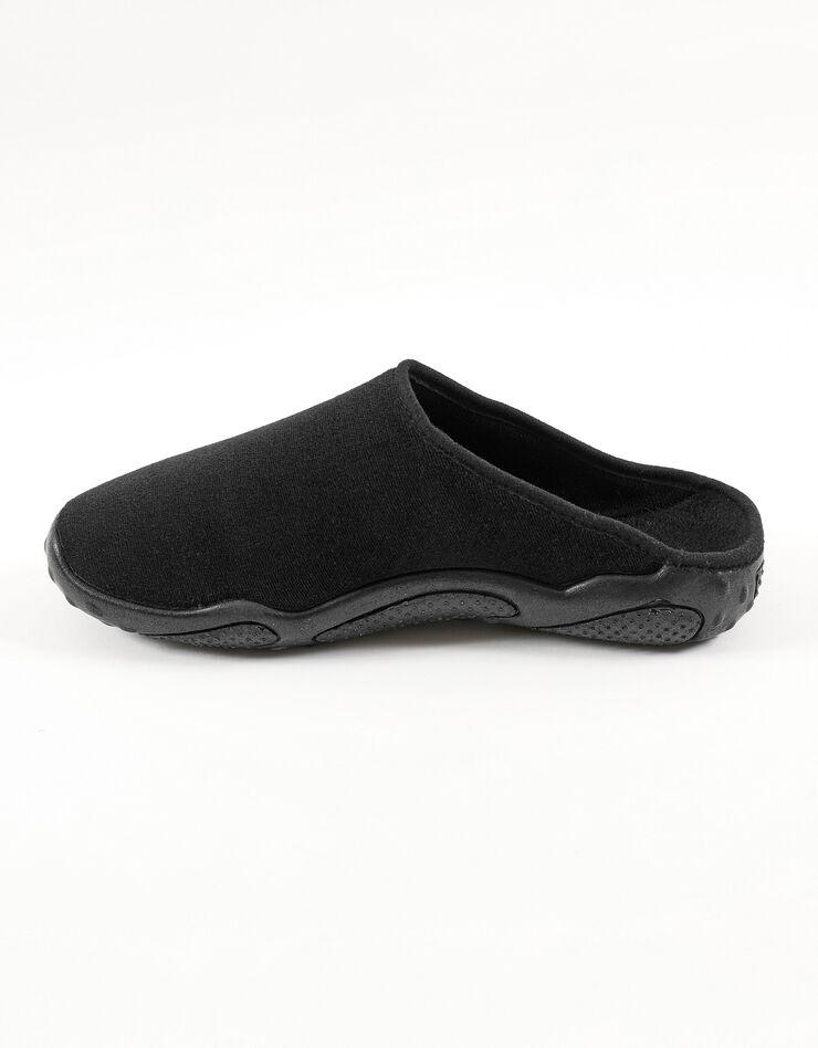 Mules homme semelles Airplum textile éponge, noir, hi-res image number 1
