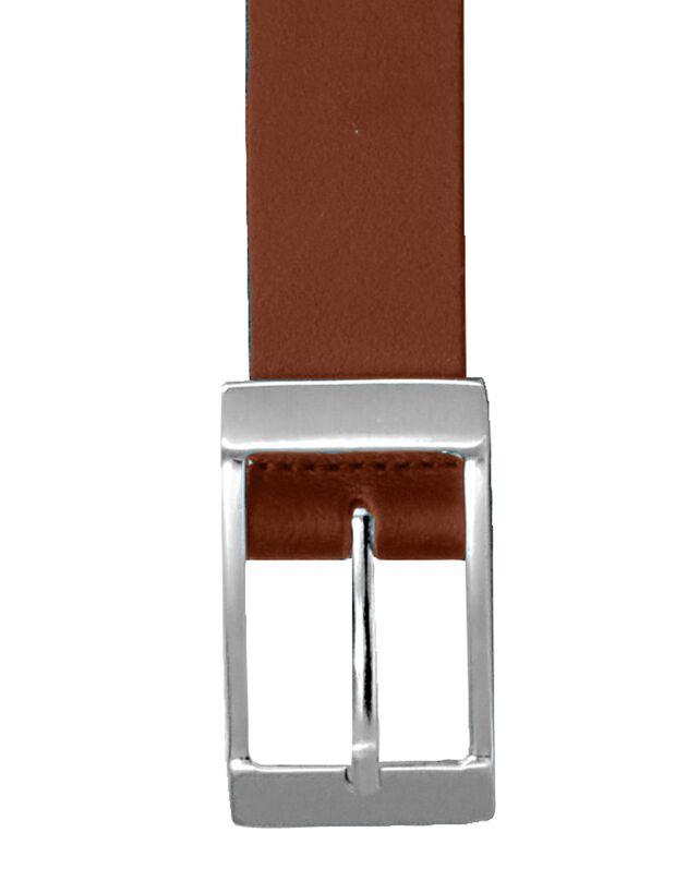 Ceinture croûte de cuir, marron, hi-res
