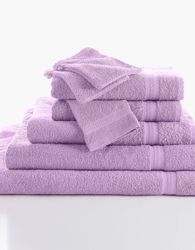 Effen badstof 420 g/m2 met zacht comfort, parma, hi-res
