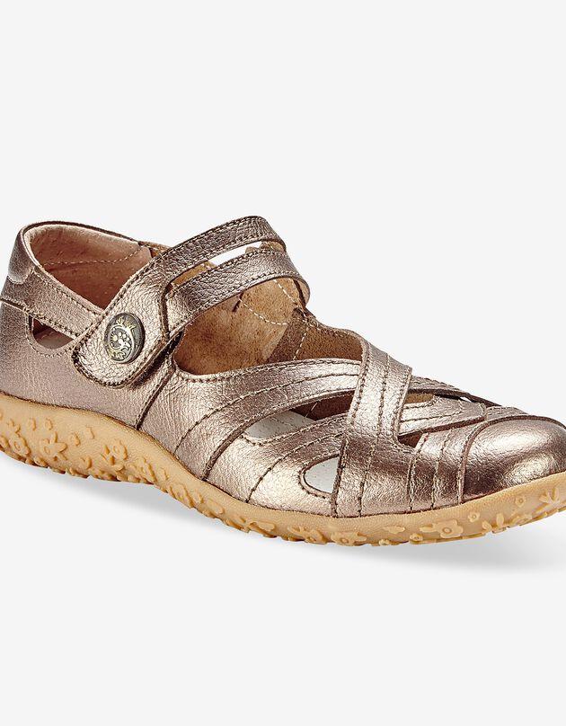 Babies confort en cuir ultra-souple - bronze, bronze, hi-res