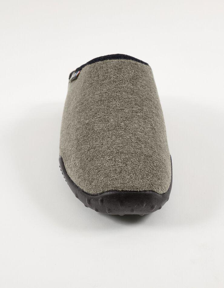 Mules homme semelles Airplum textile éponge, kaki, hi-res image number 3