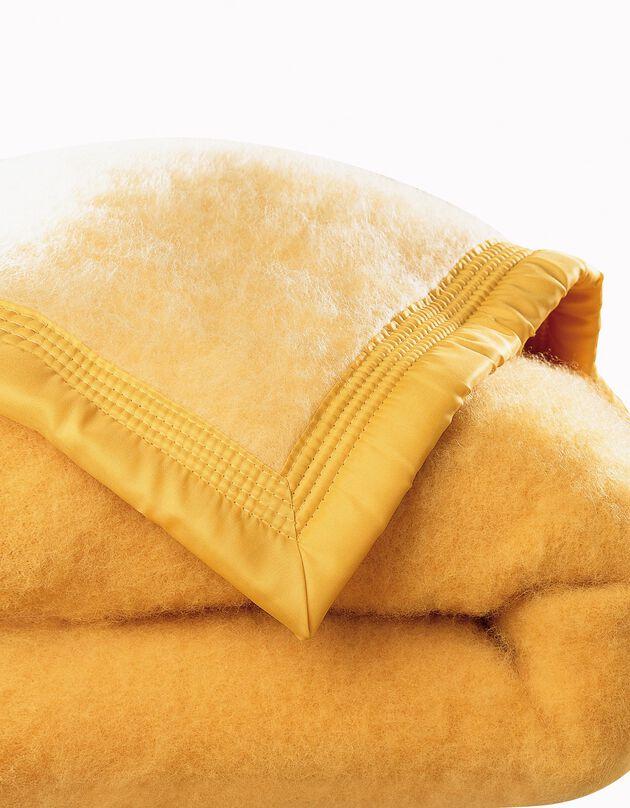 Couverture laine 1er prix 350g/m2, miel, hi-res