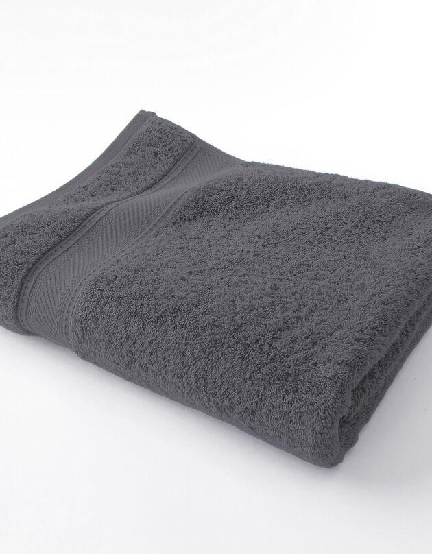 Éponge unie 540g/m2 confort luxe, anthracite, hi-res